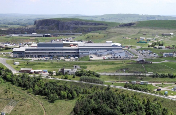 Aerial view of the HSE Science and Research Centre